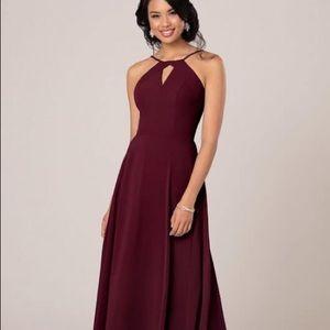 Sorella Vita Halter dress style 9270 size 16 burg